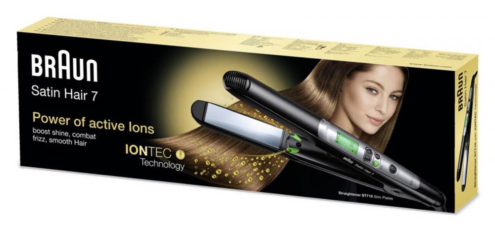 Braun Satin Hair 7 ST710 Hair Straightener With IONTEC Technology