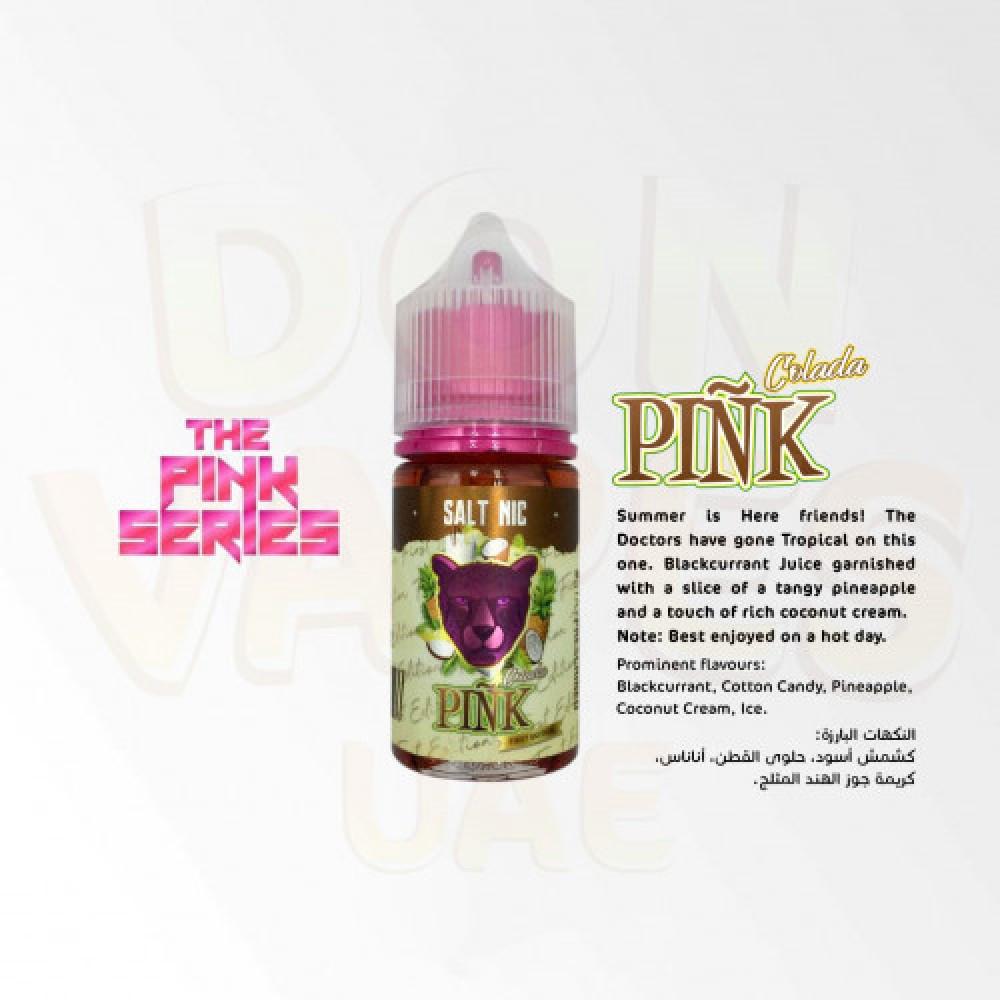 نكهة بينك بانثر كولادا سولت نيكوتين - DR VAPES - Pink Panther Colada -