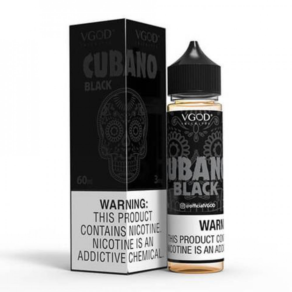 Cubano Black eLiquid VGOD