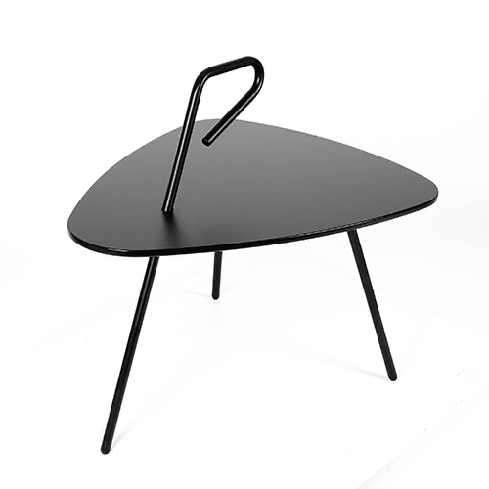 طاولة خدمة موديل روك سوداء مواسم سهلة الاستخدام من جميع أفراد العائلة