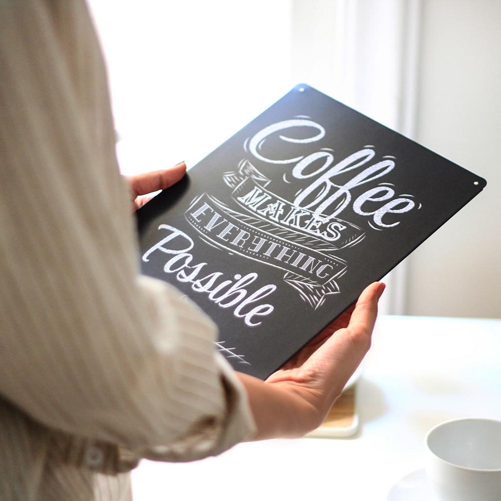 لوحات ركن القهوة عشاق القهوة أفكار  لتصميم ركن القهوة في منزلك ديكور