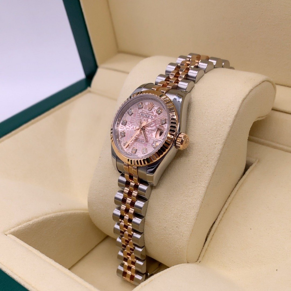 ساعة رولكس ديت جست الأصلية الثمينة مستخدمة 179171