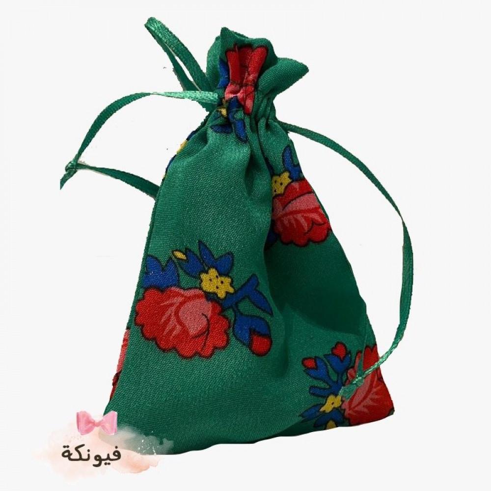 كيس شالكي ميني اخضر 10 حبات