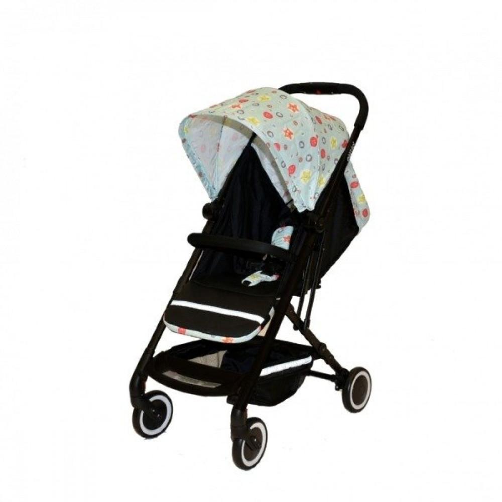 عربات الأطفال - عربة أطفال مع مظلة مع إمكانية الإمالة للخلف