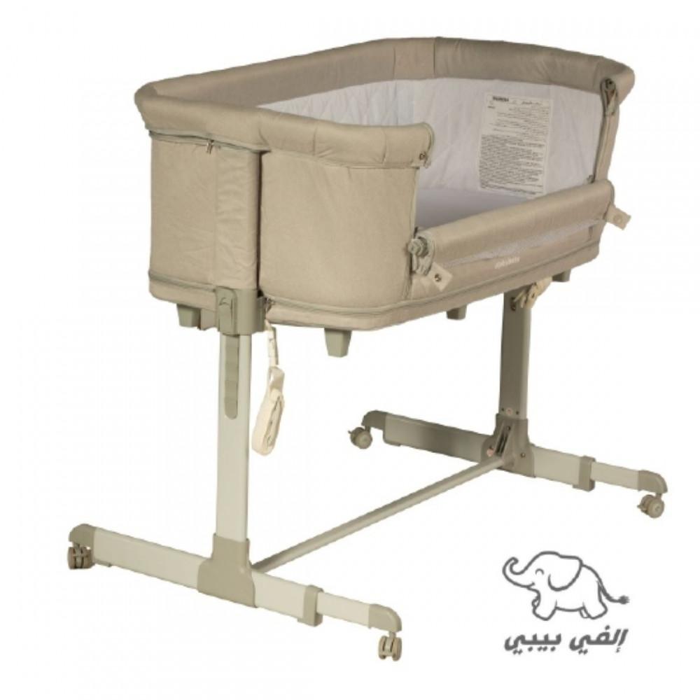 ناموسية سرير اطفال  - سرير الاطفال المطور مع ناموسية S5 رمادي