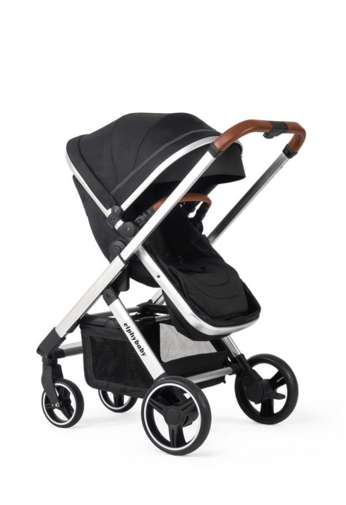 عربيه أطفال - عربة أطفال مع مظلة مع إمكانية الإمالة للخلف