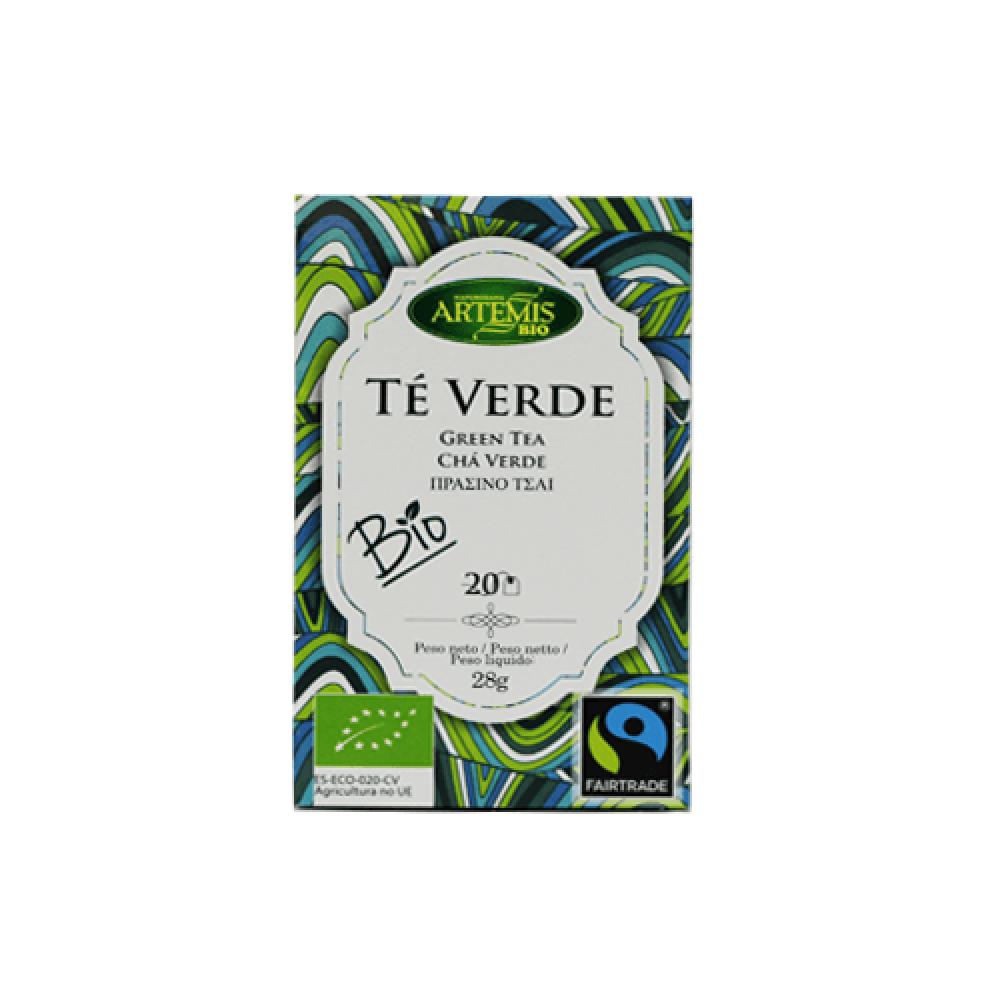 شاي  اخضر عضوي