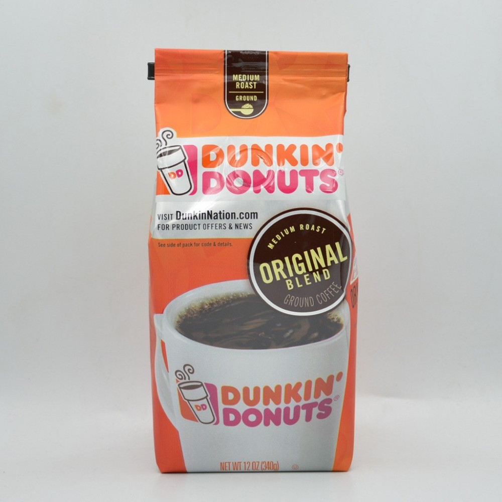 دانكن دونت أوريجينال بليند مطحون 340 جرام قهوتكم