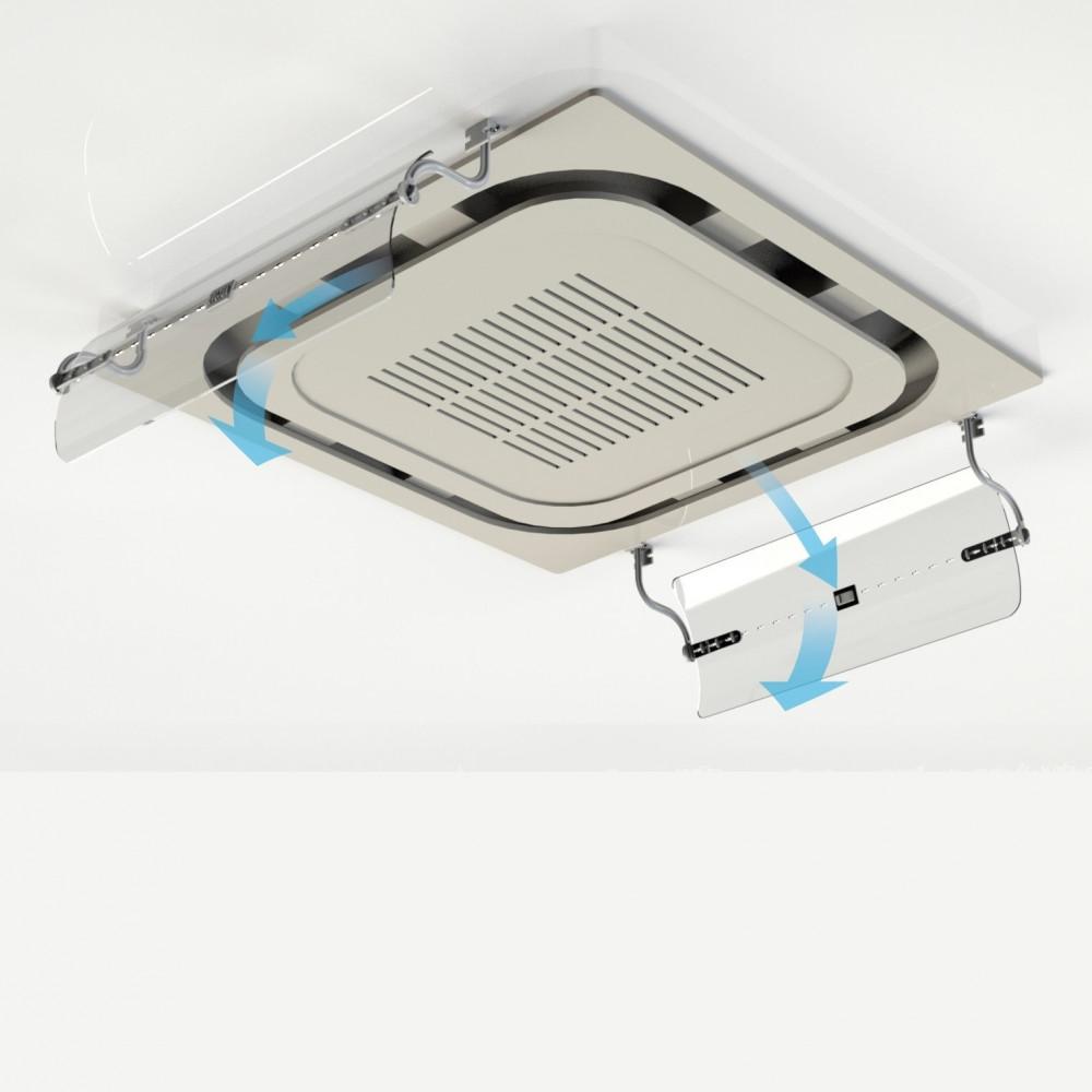 موجه هواء المكيف الكاسيت  - شركة متجر البيت