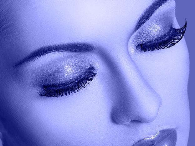 ضلال ورموش عيون