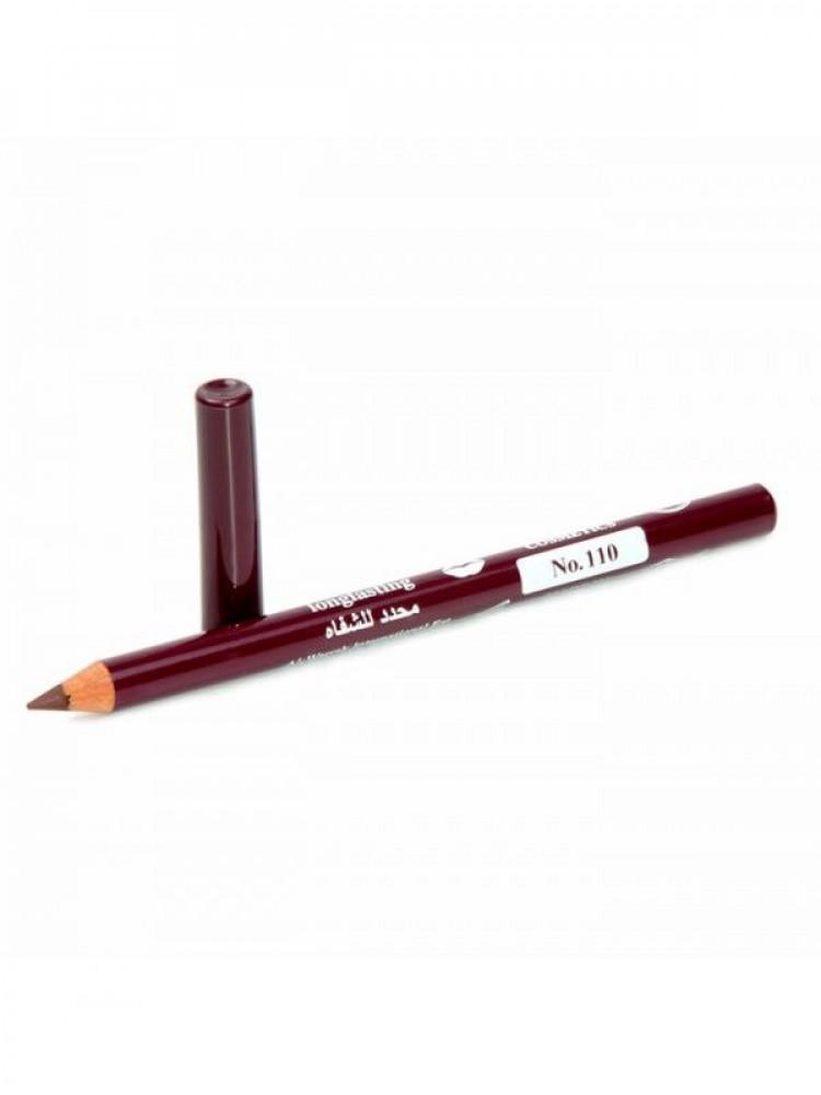 قلم تحديد شفايف طويل الامد من جيسيكا 110 عنابي