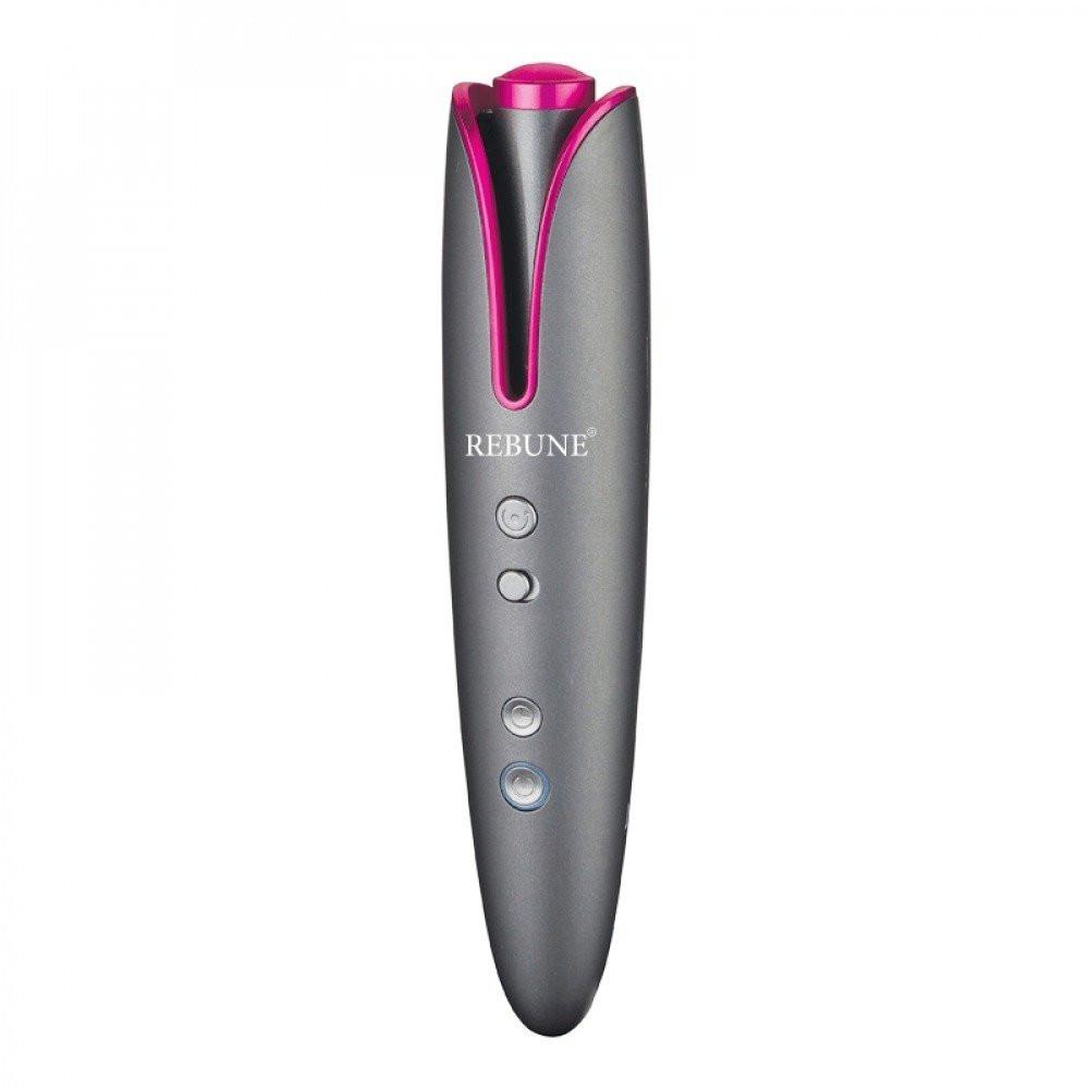 جهاز تمويج الشعر الذاتي من ريبون - رمادي زهري