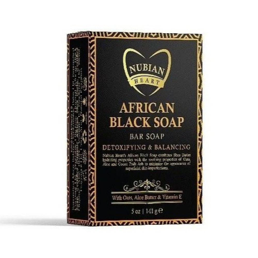 صابون أسود أفريقي من نوبيان هيرت - 141غ