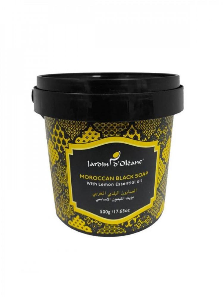 جاردن اوليان صابون بلدي مغربي بزيت  الليمون الاساسي -500 جم