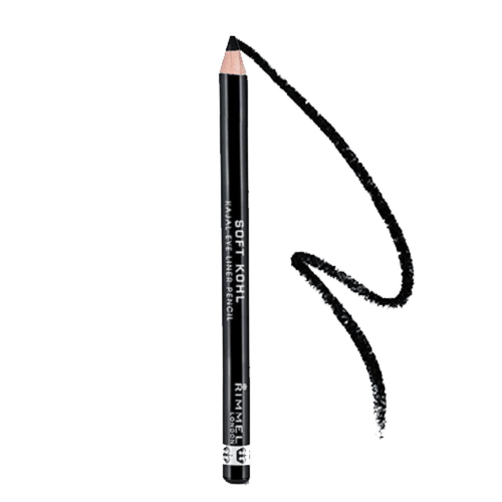 قلم تحديد العين سوفت كحل كاجال من ريميل لندن - أسود