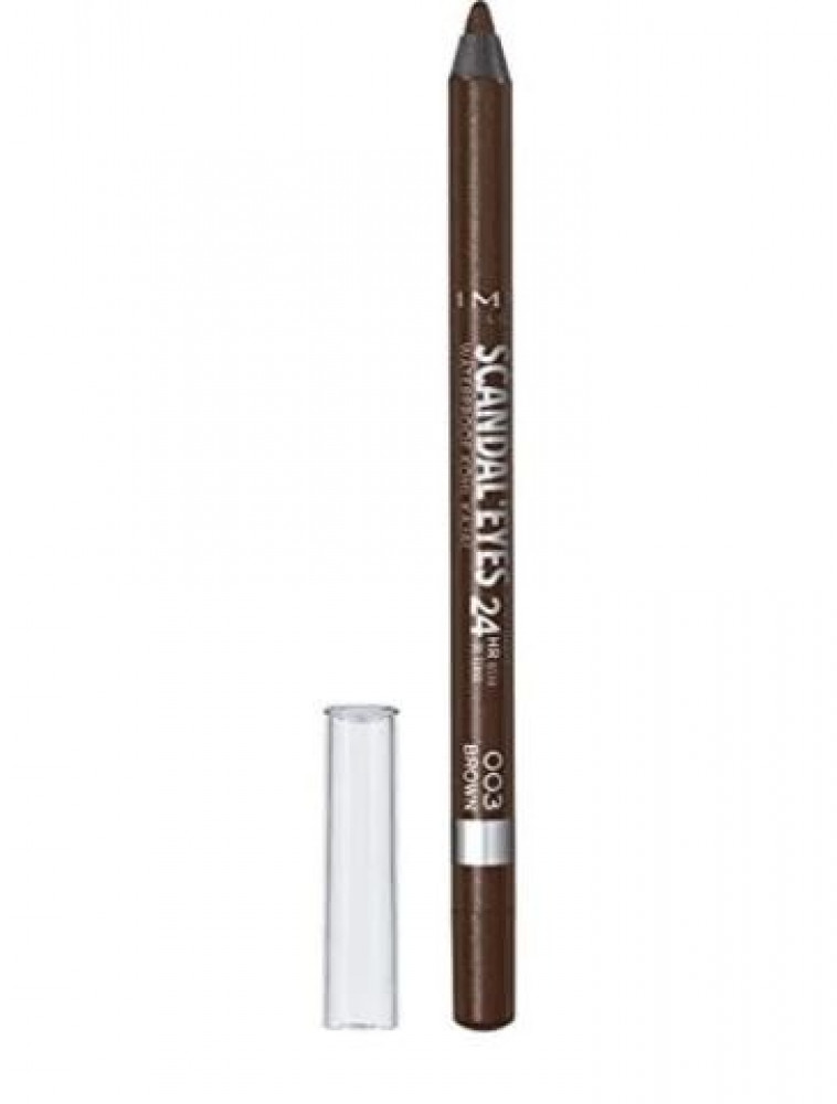 قلم تحديد العين سكاندل ايز كحل كاجل مقاوم للماء من ريميل لندن - 003 بن