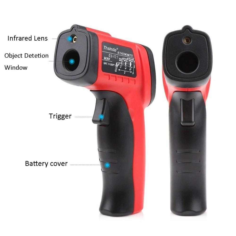 جهاز قياس درجات الحرارة رقمي للإستخدام الطبي والمنزلي والصناعي