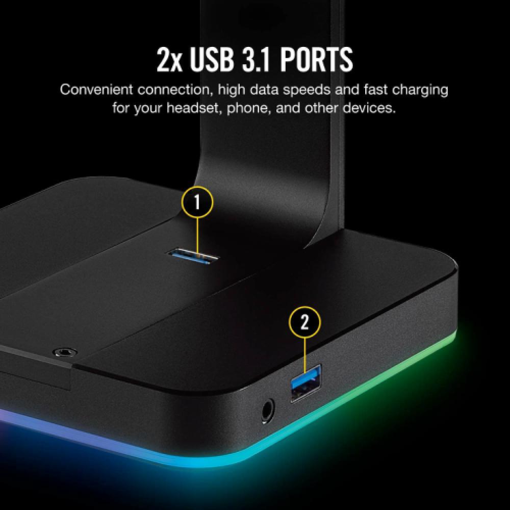 CORSAIR ST100 RGB Headset Stand