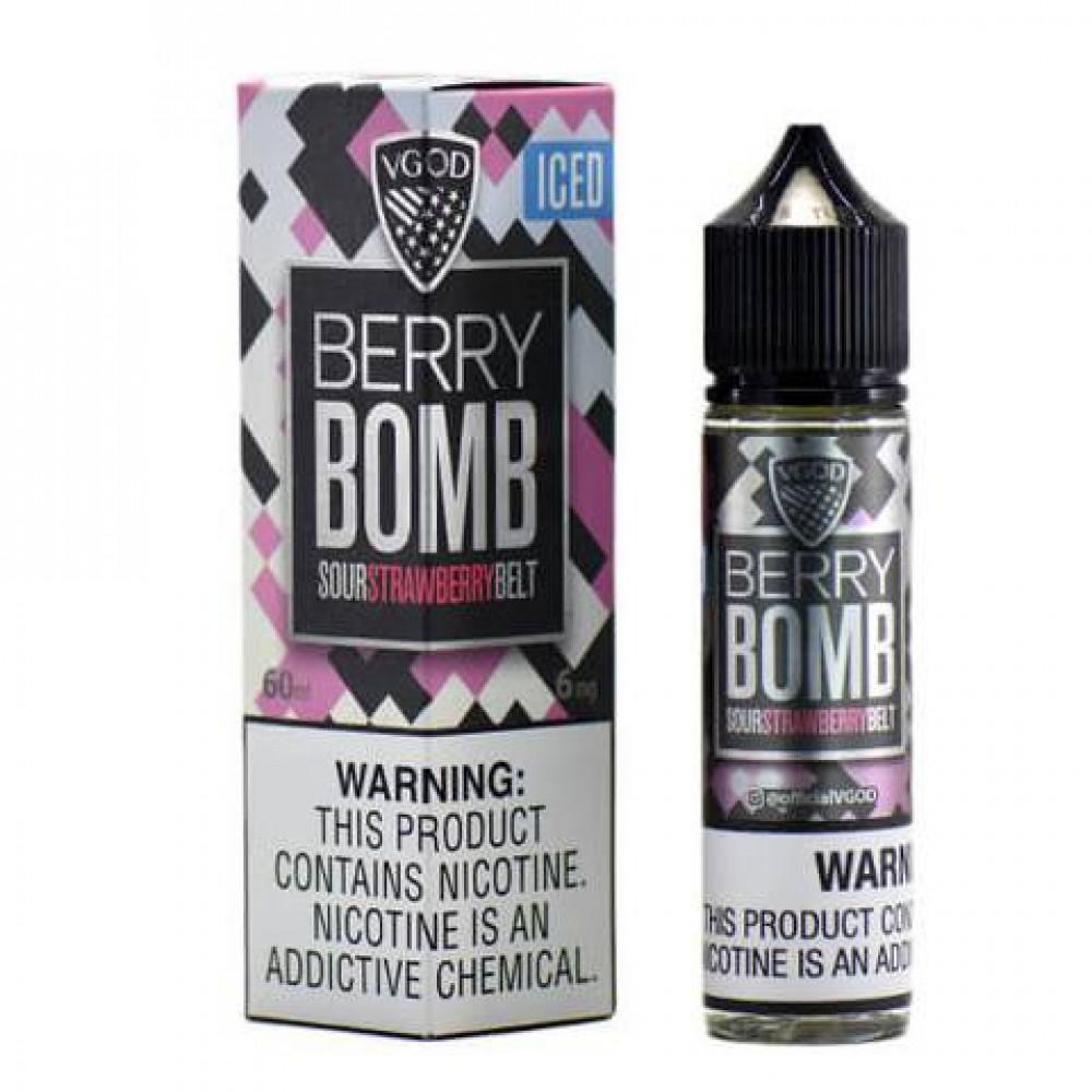 ICED Berry Bomb eLiquid VGOD