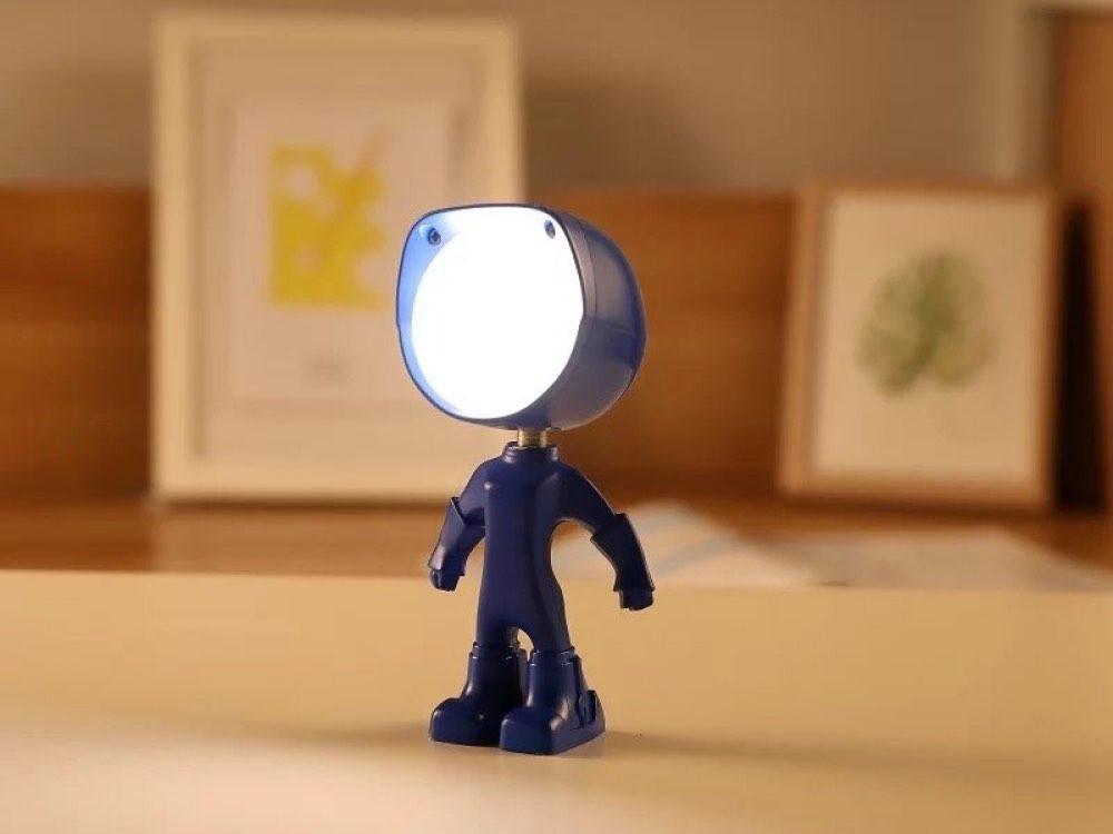 مصباح ليد ليلي شكل روبوت