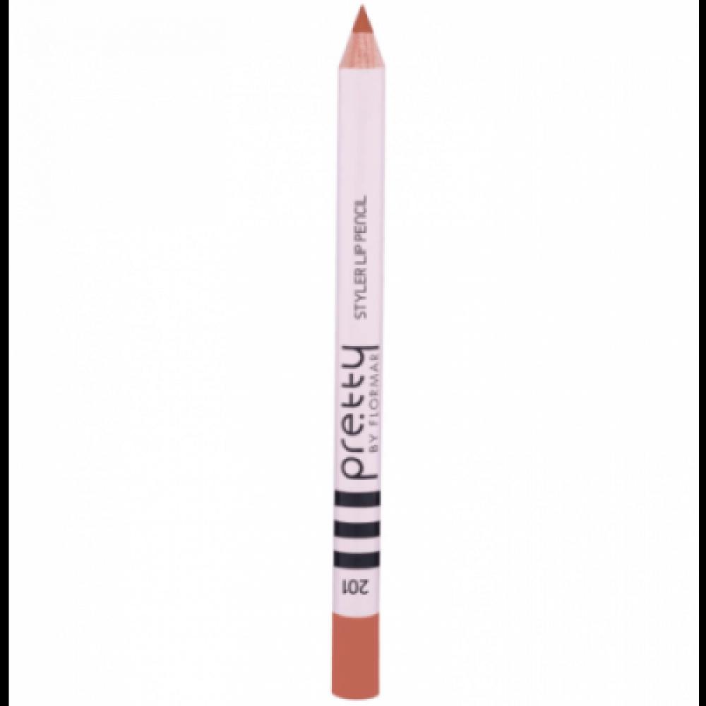 بريتي باي فلورمار -  ستايلر قلم تحديد الشفاه  201