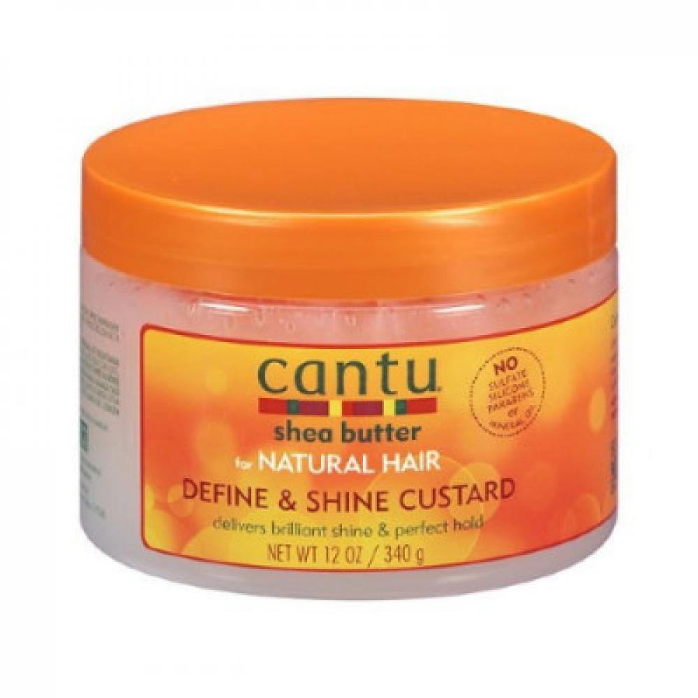 كانتو - كريم الكاسترد لتحديد ولمعان الشعر بخلاصة زبدة الشيا - 340 جرام