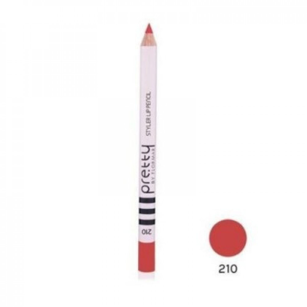 بريتي باي فلورمار -  ستايلر قلم تحديد الشفاه  210