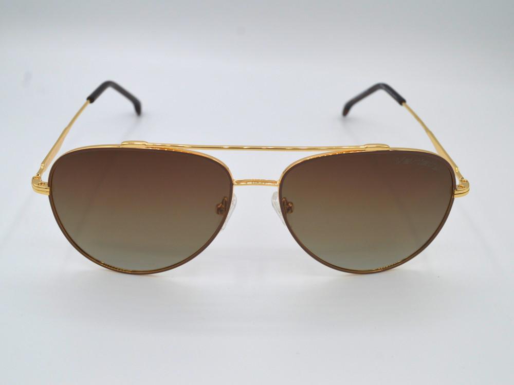 فاريتي variety نظارات شمسية نسائية اللون الذهبى لون العدسة بني مدرج c4