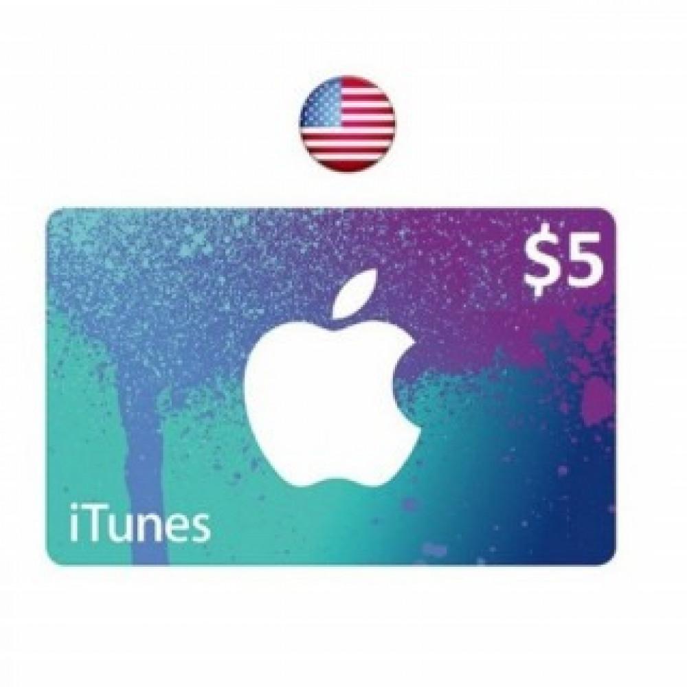 5 دولار ايتونز امريكي