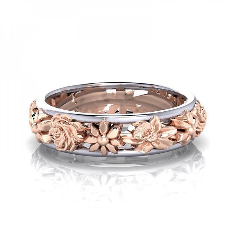 خاتم البنصر من الذهب