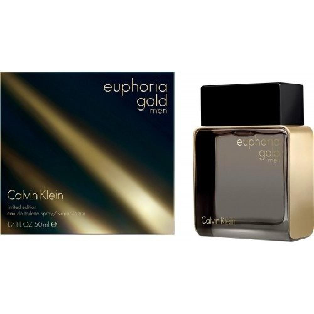 Calvin Klein Euphoria Gold for Men Eau de Toilette 100ml خبير العطور