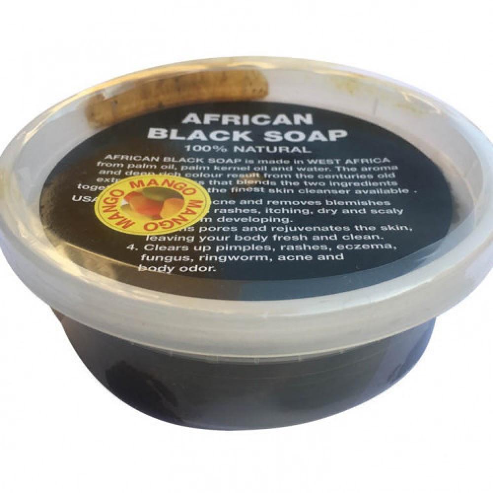 الصابونة الأفريقية المعجون الطبيعية برائحة المانجا حجم 200 جرام