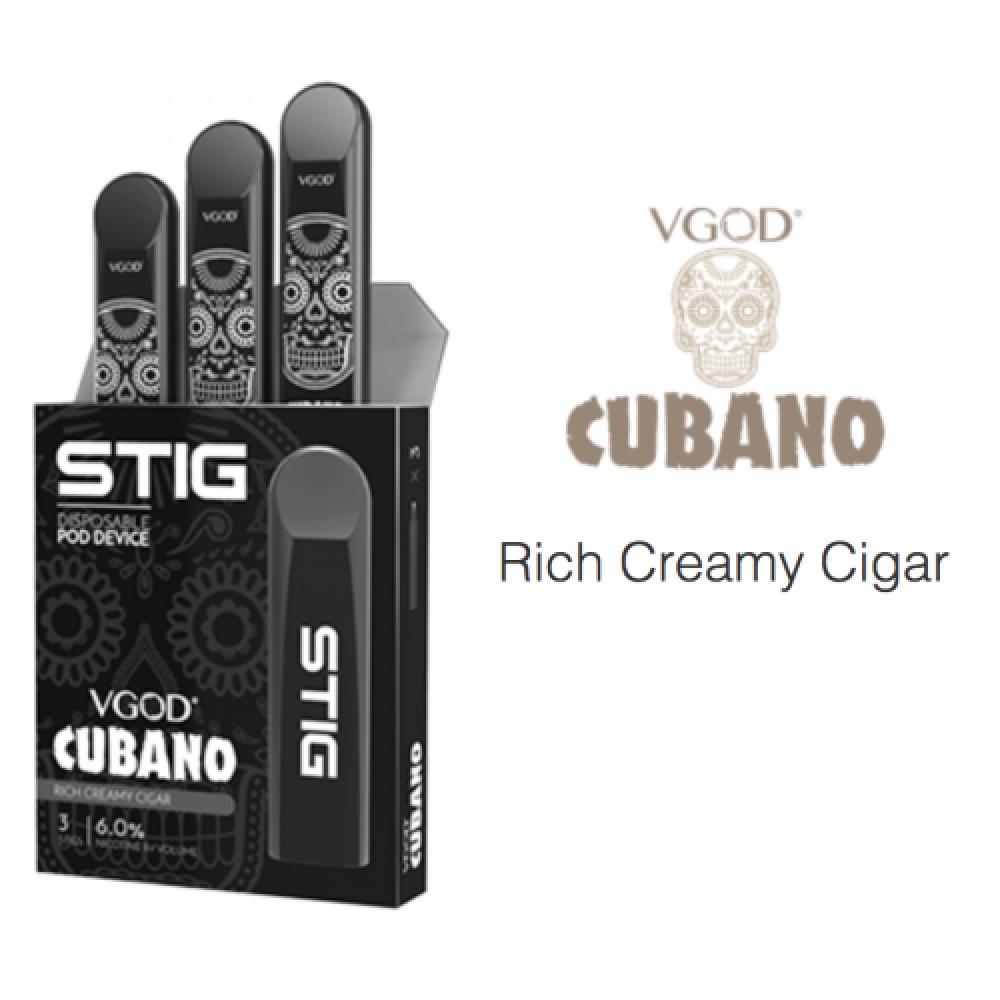 ستيج كوبانو - VGOD STIG Cubano - 3-Pack - فيقود - فيجود - كوبانو - فيب