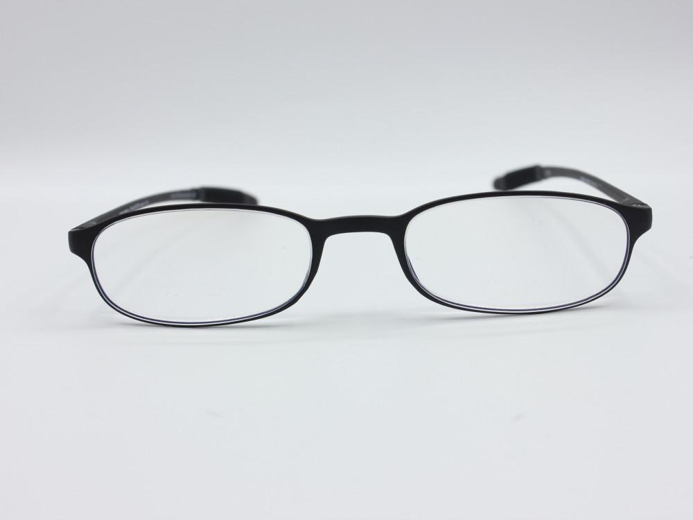 نظارة قراءه من ماركة VARIETY لون الاطار اسود للجنسين بيضاوية الشكل
