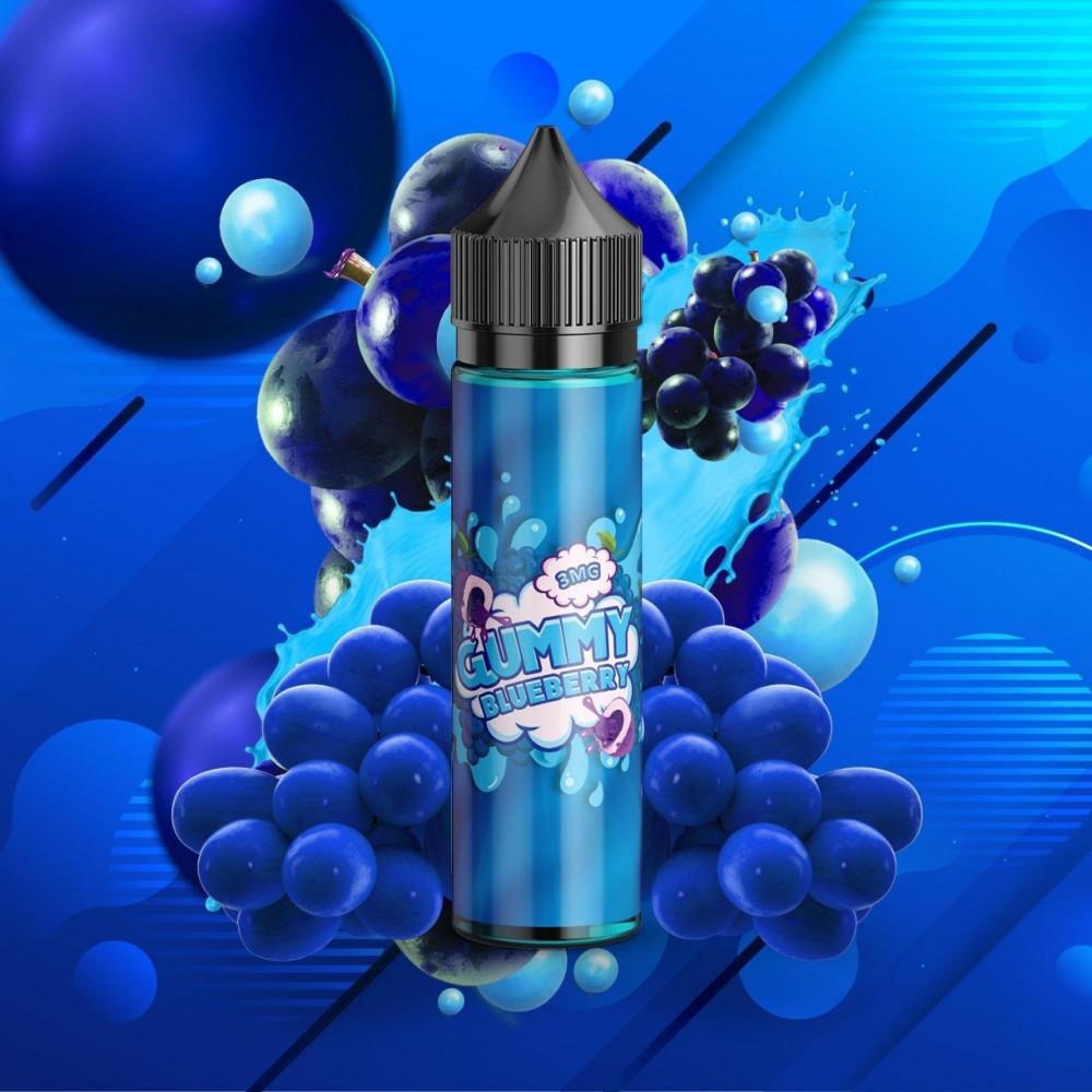 نكهة جامي بلو بيري - التوت الازرق - GUMMY BLUEBERRY  - 60ML