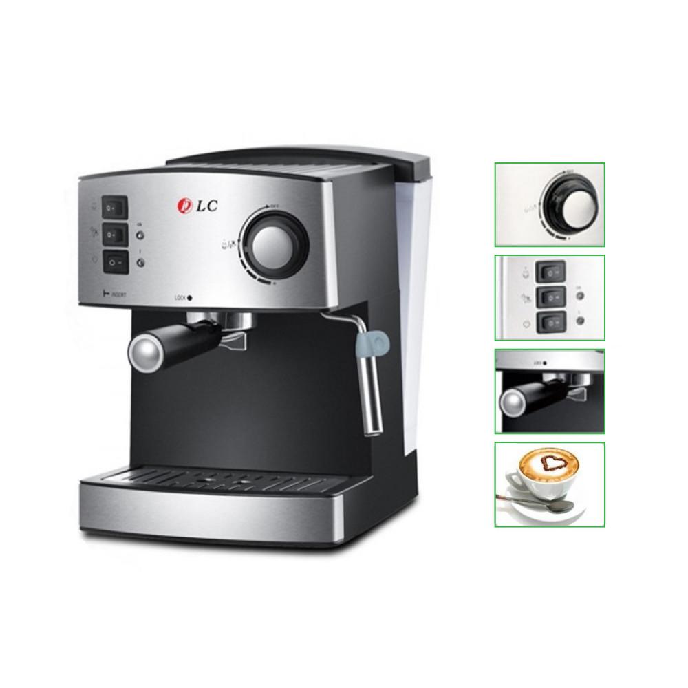 مكينه قهوه  - ماكينة القهوة لتحضير الكابتشينو و اسبريسو DLC-CM7307 لون