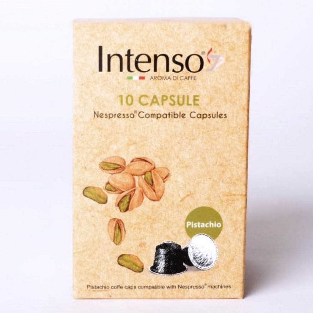كبسولات انتينسو فستق متوافقة مع نسبريسو وهوم ماستر - متجر أدوات للقهوة