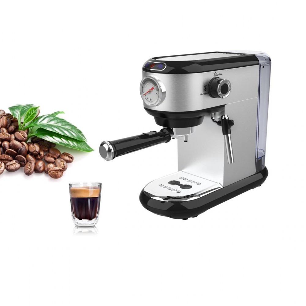 الة القهوة - ماكينة تحضير قهوة اسبريسو و كابتشينو و لاتيه مع تبخير الح