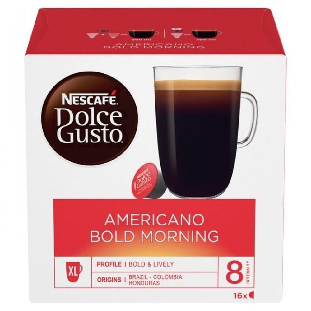 قهوة امريكانو - كبسولات أمريكانو بولد مورنينق دولتشي قوستو