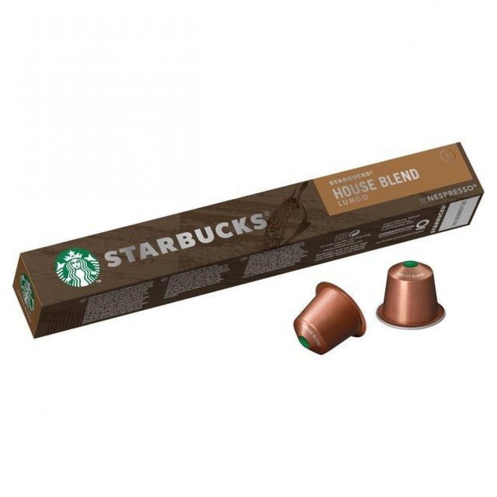كبسولات ستاربكس هاوس بليند لونجو من نسبريسو متجر أدوات للقهوة