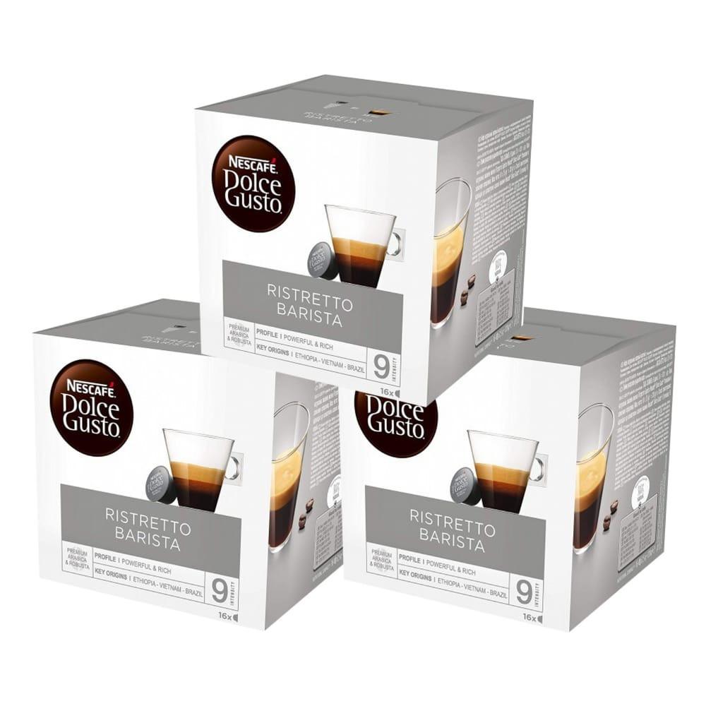 قهوة ريستريتو باريستا -كبسولات نسكافيه دولتشي قوستو ريستريتو باريستا 3