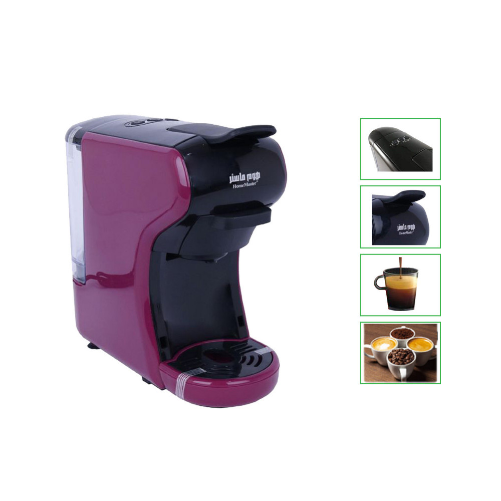 ماكينة القهوة هوم ماستر - ماكينة صنع القهوة بكبسولات من هوم ماستر 908