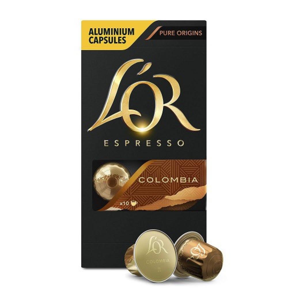 كبسولات لور كولومبيا - كبسولات لور كولومبيا