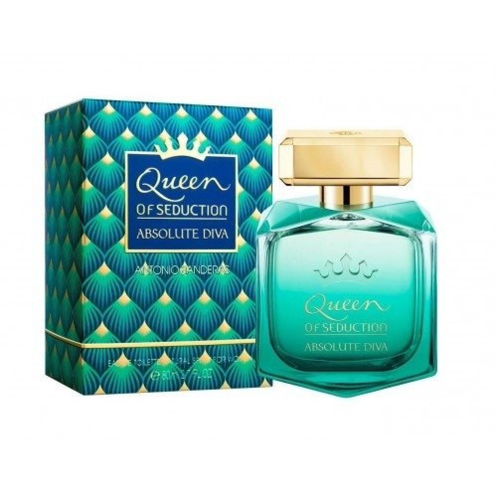 Antonio Banderas Queen Of Seduction Absolute Diva Eau de Toilette 80ml