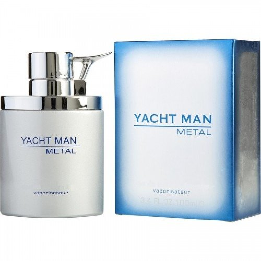 Yacht Man Metal Eau de Parfum 100ml خبير العطور