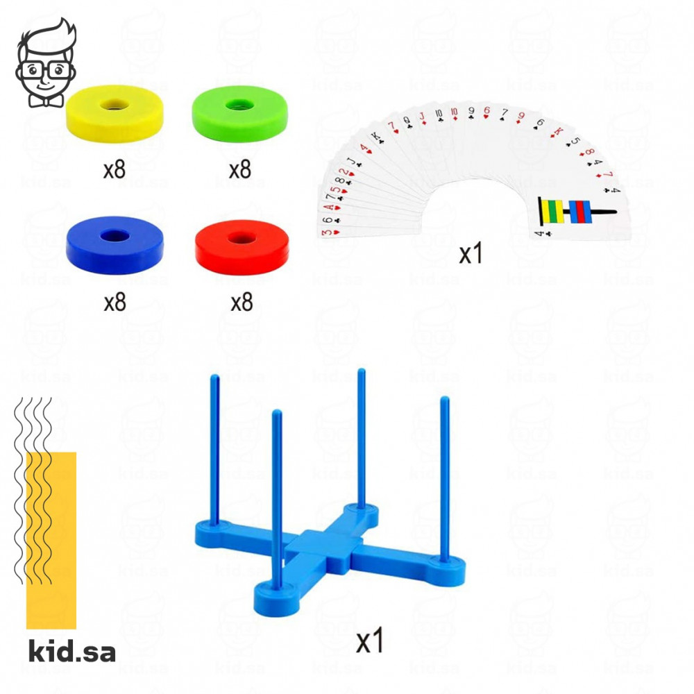 محتويات اللعبة الجماعية التعليمية للاطفال