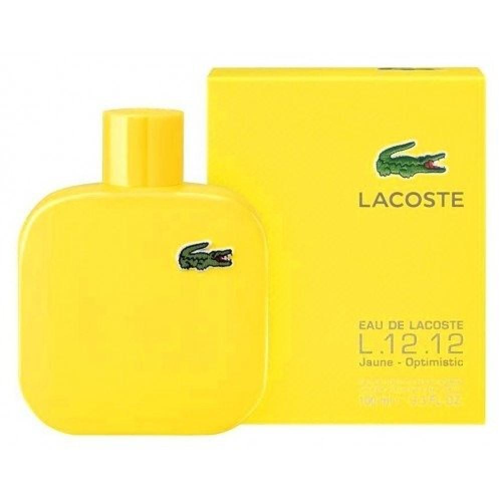 Lacoste L12 12 Yellow Jaune Eau de Toilette 175ml متجر خبير العطور