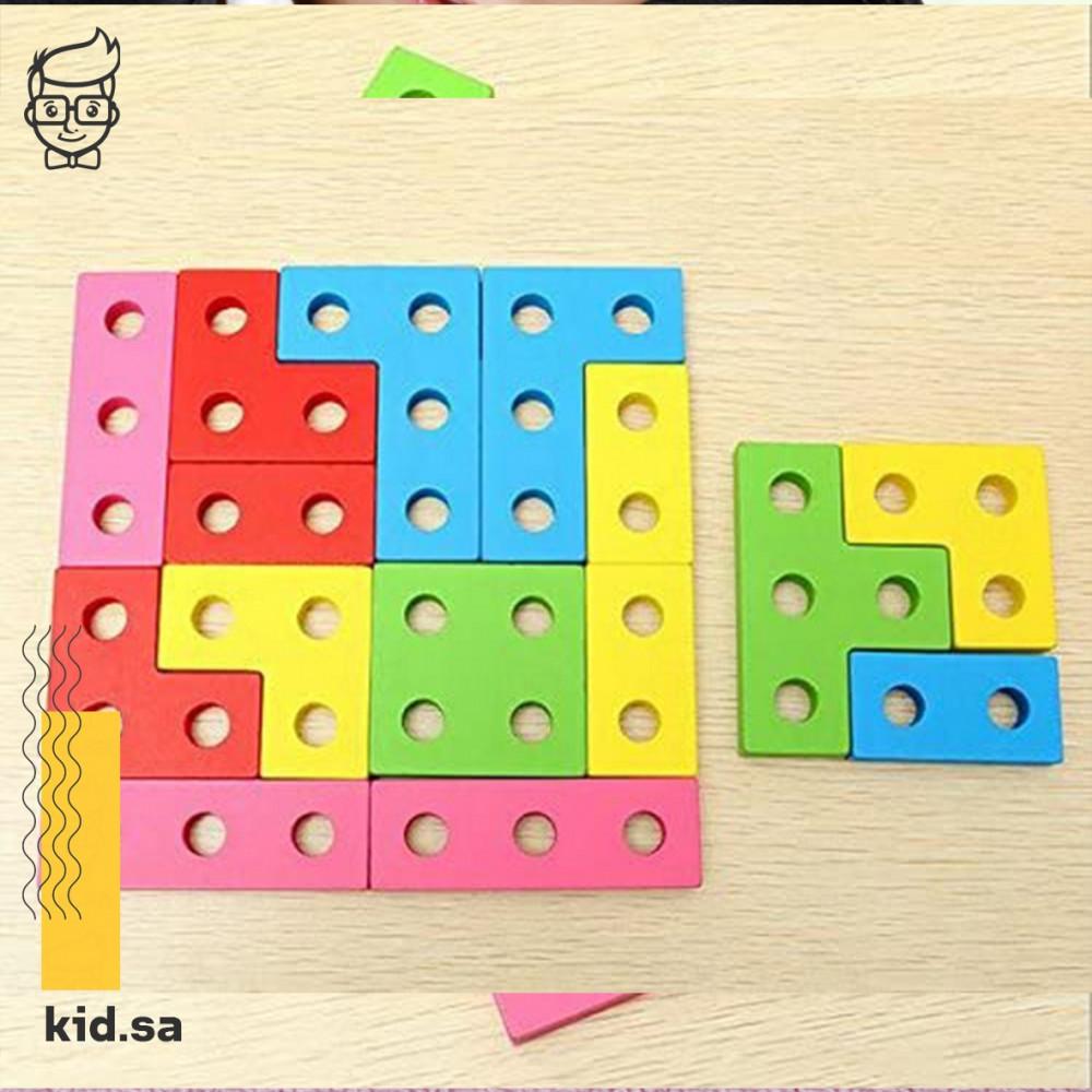 لعبة تحدي ذكاء الطفل لتركيب اشكال صعبة
