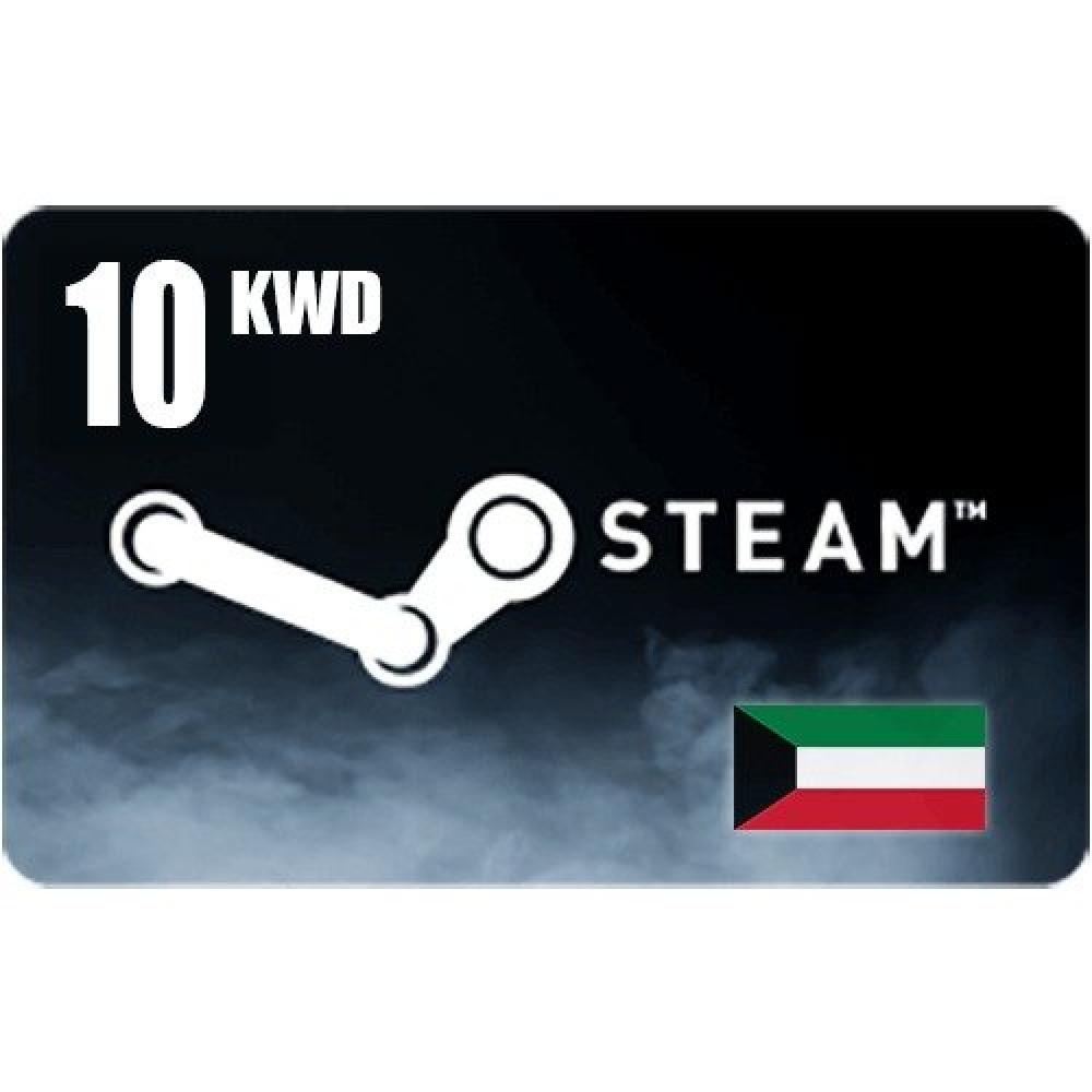 بطاقة ستيم 10 دينار