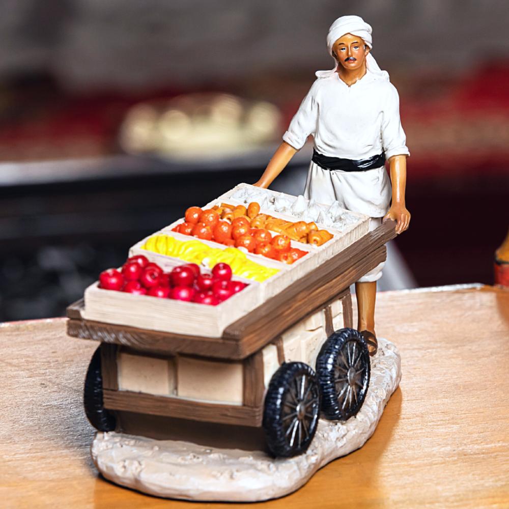 تذكار بائع الفواكه والخضار